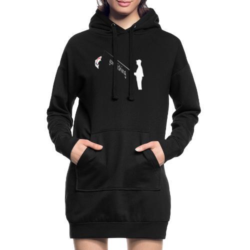 Angler - Hoodie-Kleid