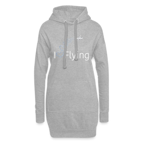 I love flying wit3 - Hoodie Dress
