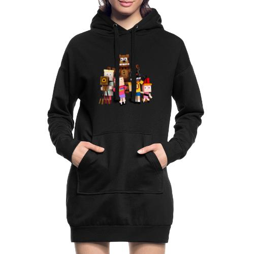 Withered Bonnie Productions - Meet The Gang - Hoodie Dress