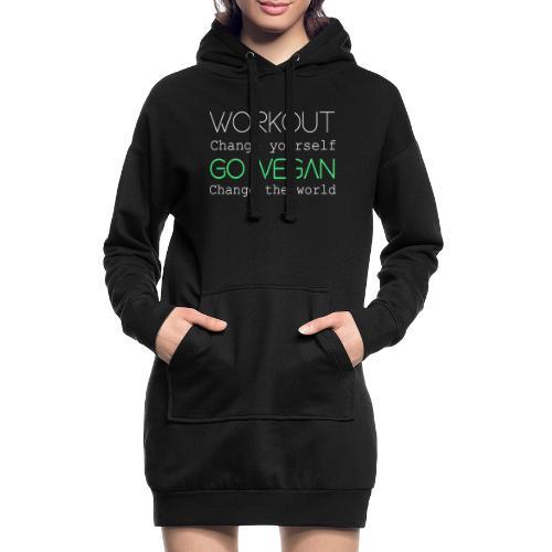 Change the world - Hoodie Dress