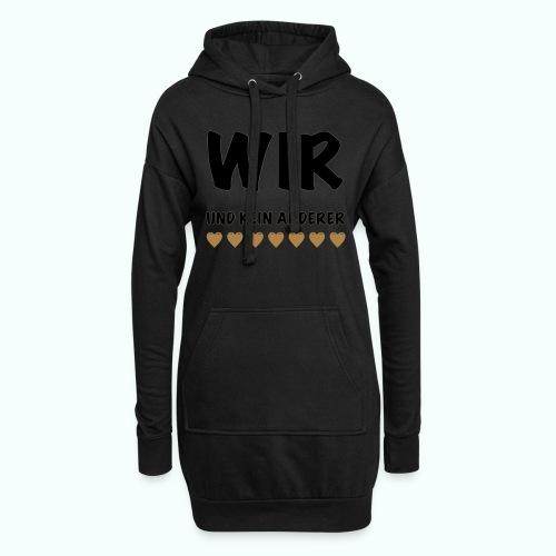 WIR - Hoodie-Kleid