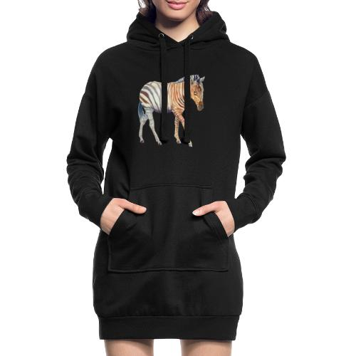 Zebra grants - Hoodie-kjole