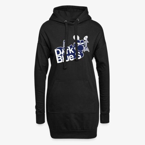 DarkBlueS outline gif - Hoodie Dress