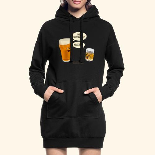 Bier & Whisky Spruch I am your father - Hoodie-Kleid