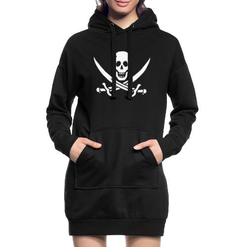 Jack Rackham Flag - Sweat-shirt à capuche long Femme
