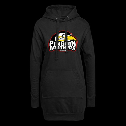 Pinguin bracia Clan - Długa bluza z kapturem
