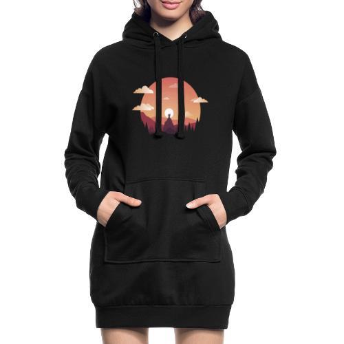 Monte Sagrado - Sudadera vestido con capucha