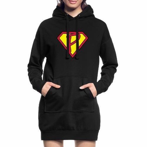 superp 2 - Hoodie-Kleid