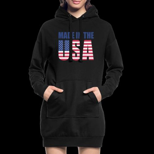 made-in-the-usa - Hoodie-Kleid