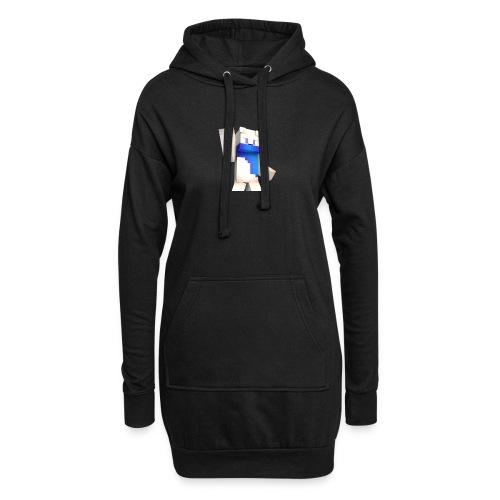 Tee-Shirt Noir - MrBobi - Sweat-shirt à capuche long Femme