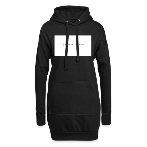 I_don-t_wanna_fall_in_love-pptx - Hoodie-kjole