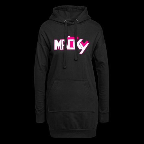 MaickyTv Pink - Hoodie-Kleid