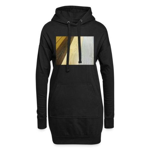 Texturas - Sudadera vestido con capucha