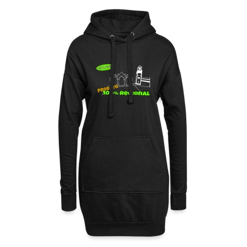 Dark City Gates - Hoodie Dress