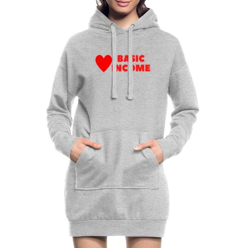 basic income red trans - Hoodiejurk