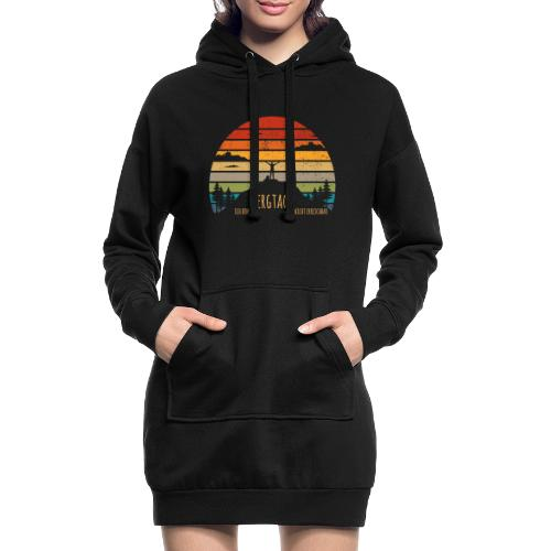 lustige Wanderer Sprüche Shirt Geschenk Retro - Hoodie-Kleid