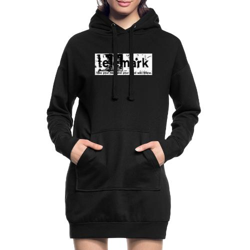 Print Free your heel and your mind will follow - Hoodie-Kleid