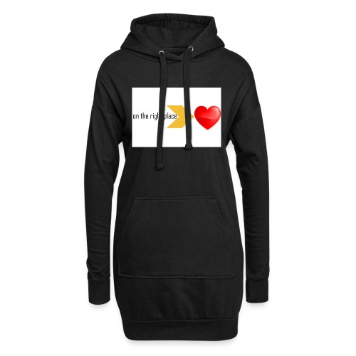 Heart on the right place - Hoodiejurk