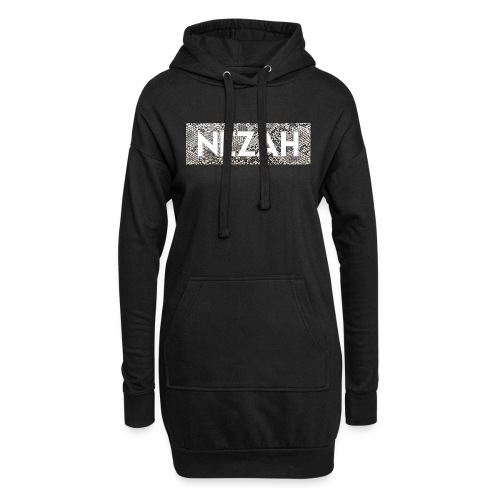 Nezah Snake Skin Box Logo - Hoodie Dress
