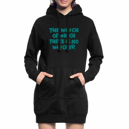 whichwhichwhich - Hoodie-Kleid