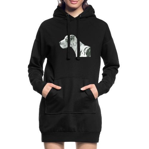 grand danios harlequin - Hoodie-kjole