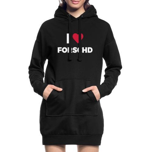 I ❤ Forschd - Hoodie-Kleid