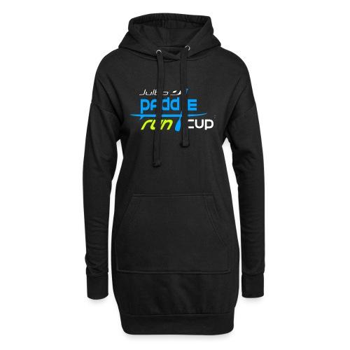 SPREADSHIRT_Logos_Paddle_Run_v3_-3- - Sweat-shirt à capuche long Femme