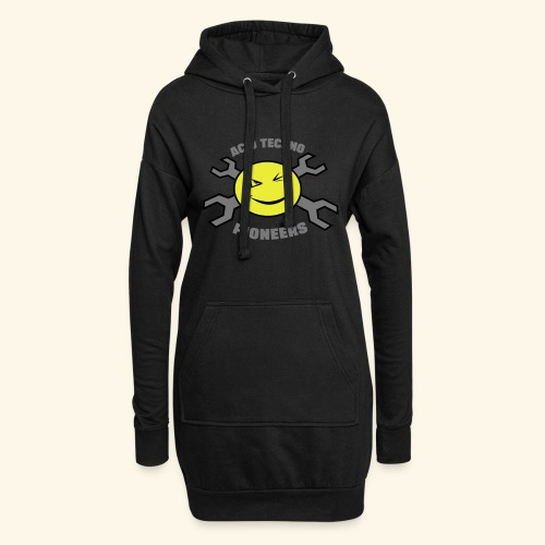 ACID TECHNO PIONEERS - SILVER EDITION - Hoodie Dress