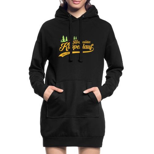 Klippenlauf Retro Front - Hoodie-Kleid