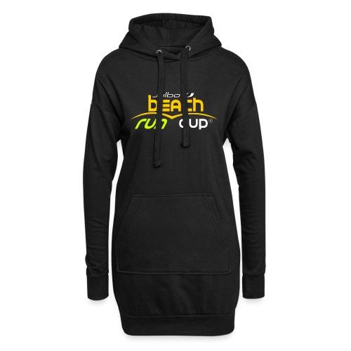 SPREADSHIRT_Atelier_Beach_run_v3_-1- - Sweat-shirt à capuche long Femme