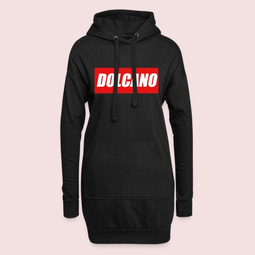 DOLCANO Box Logo Short Sleeved T-Shirt. - Hoodie Dress
