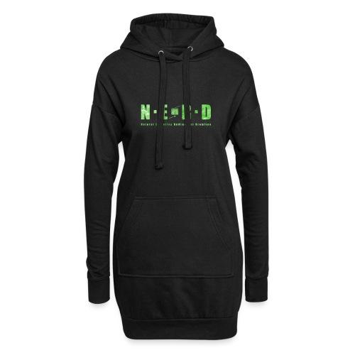 NERD Green - Hoodie-kjole
