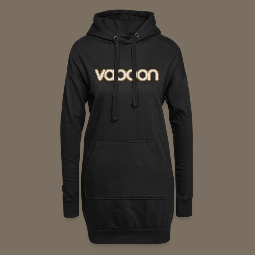 Vapoon Logo simpel 2 Farb - Hoodie-Kleid