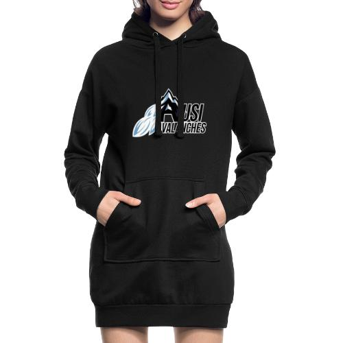USI Avalanches - Hoodie-Kleid