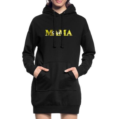 Stolze Mama Geschenk Muttertag - Hoodie-Kleid