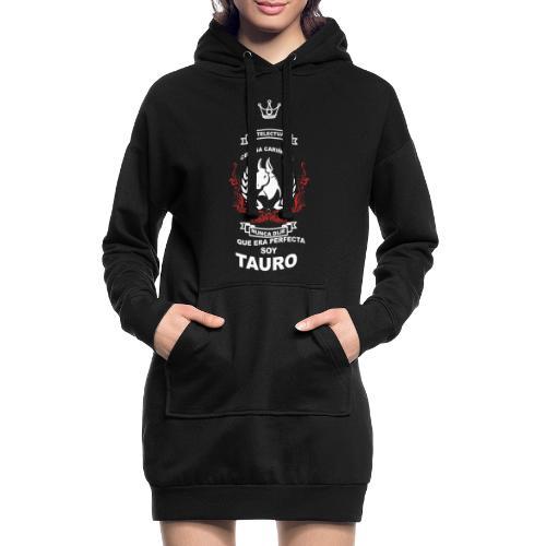 TAURO GIRLS - Sudadera vestido con capucha