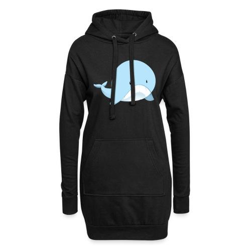Whale - Vestitino con cappuccio