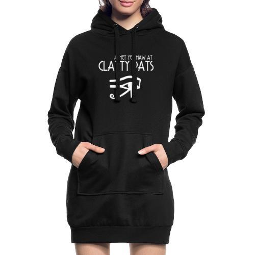 Clatty Pats - Hoodie Dress