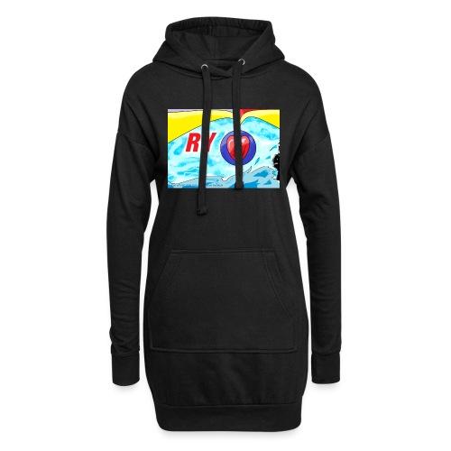 Ry diseños - Sudadera vestido con capucha