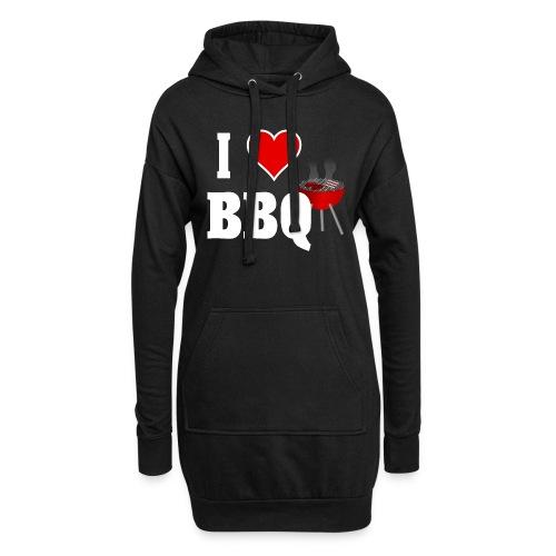 BBQ Barbecue - Hoodie-Kleid