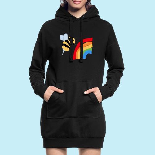 BEe Gay - Sweat-shirt à capuche long Femme