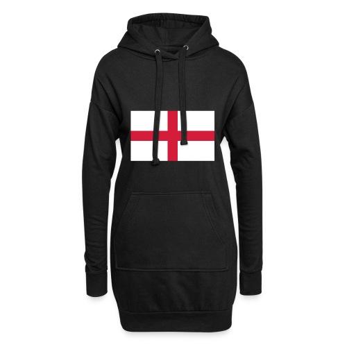 Bandera de Inglaterra / Color personalizable - Hoodie Dress