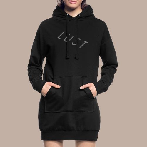 Lust - Hoodie-Kleid