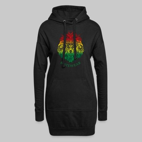 #Bestewear - Rastafari Lion - Hoodie-Kleid