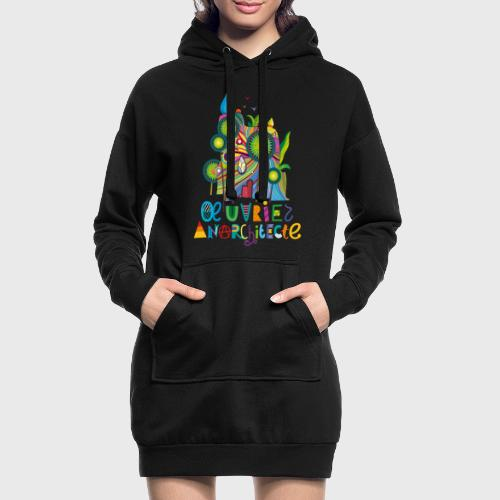Anarchitecte - Sweat-shirt à capuche long Femme