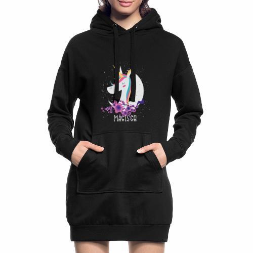 Magisches Einhorn - Hoodie-Kleid