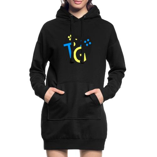 logoTG - Długa bluza z kapturem