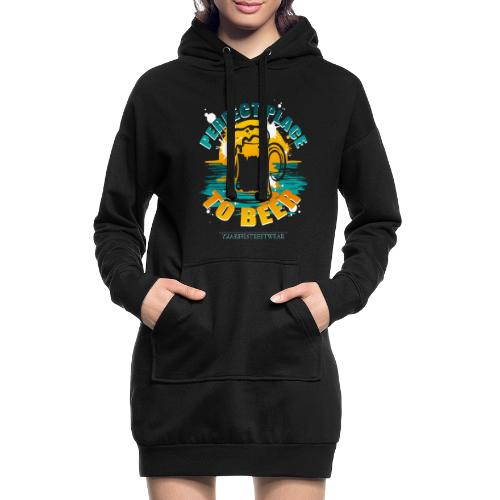 a perfect place to beer - Hoodie-Kleid