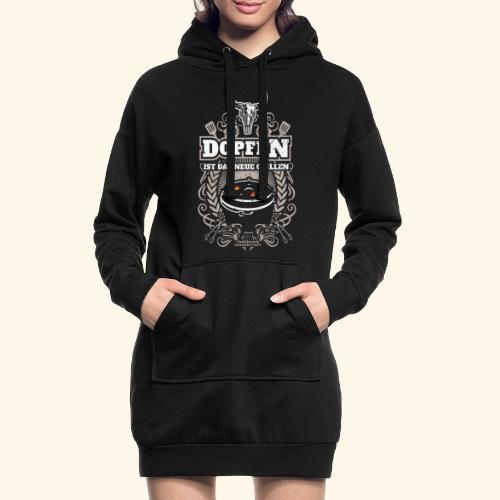 Dutch Oven T Shirt Dopfen ist das neue Grillen - Hoodie-Kleid