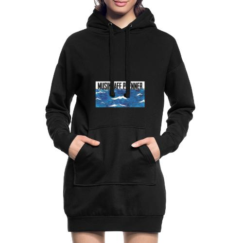 Musikcafe Prenner Schriftzug - Hoodie-Kleid